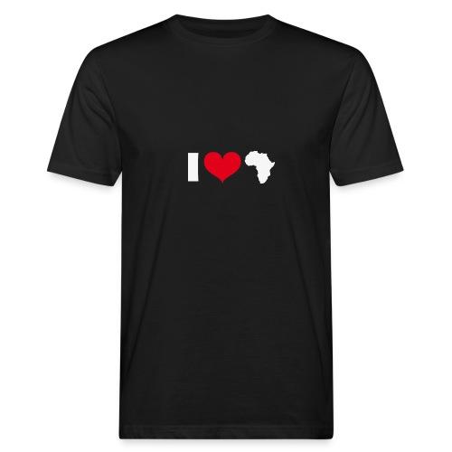 I love africa - Männer Bio-T-Shirt