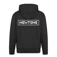 Pullover & Hoodies ~ Männer Premium Kapuzenjacke ~ NewTone Männer Kapuzenjacke schwarz