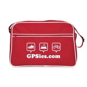 GPSies Retro Tasche rot - Retro Tasche
