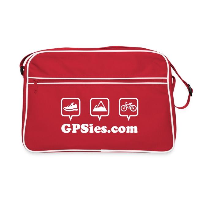 GPSies Retro Tasche rot