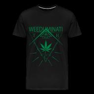 Tee shirts ~ T-shirt Premium Homme ~ Weed uminati