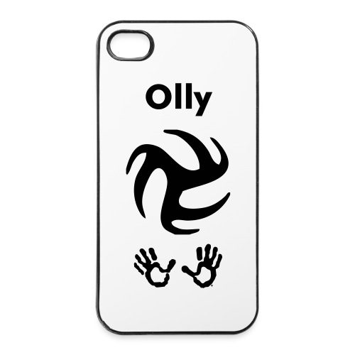 Cover con nome personalizzabile  - Custodia rigida per iPhone 4/4s