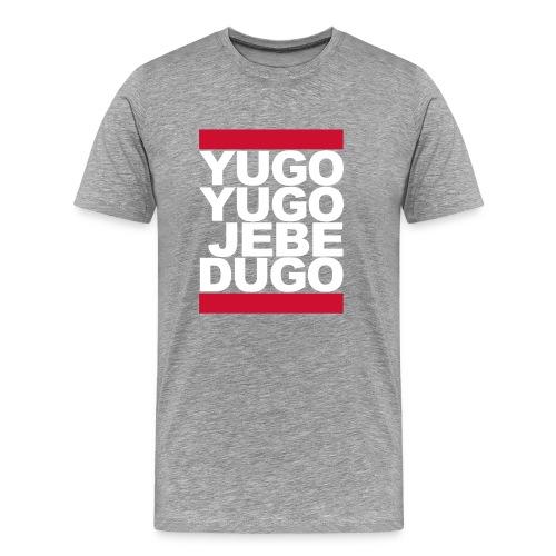 T-Shirt Yugo Yugo jebe dugo - Männer Premium T-Shirt