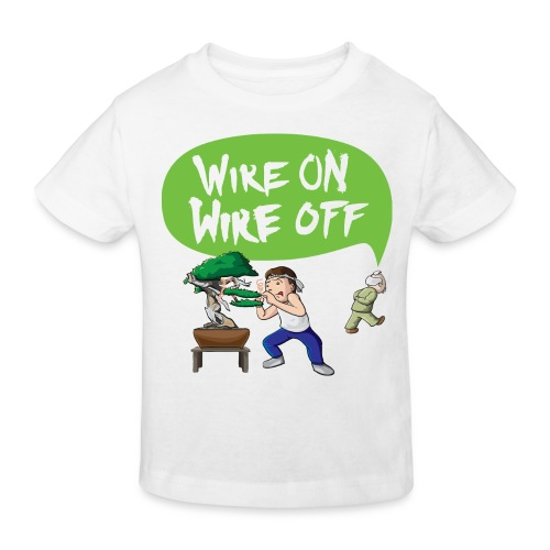 Wire On Wire Off Children Shirt - Kids' Organic T-shirt