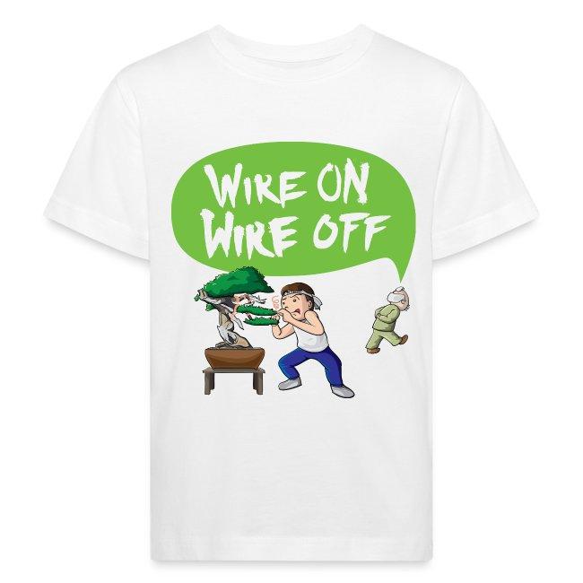 Wire On Wire Off Children Shirt
