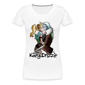 KatyxDrizzit T-Shirt (Donna) - Maglietta Premium da donna