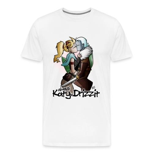 KatyxDrizzit T-Shirt (Uomo) - Maglietta Premium da uomo