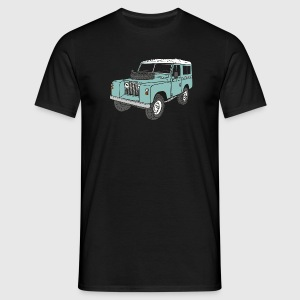 Landie 4x4 Off-Road Series 2 88 Classic T-shirts - Mannen T-shirt