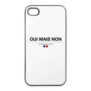 OUI MAIS NON - rigide 5/5S - Coque rigide iPhone 4/4s