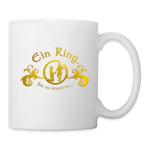 Ein Ring Ihn zu knechten... - Tasse