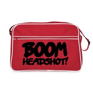 BOOM HEADSHOT! Retro Bag (tas) - Retro-tas