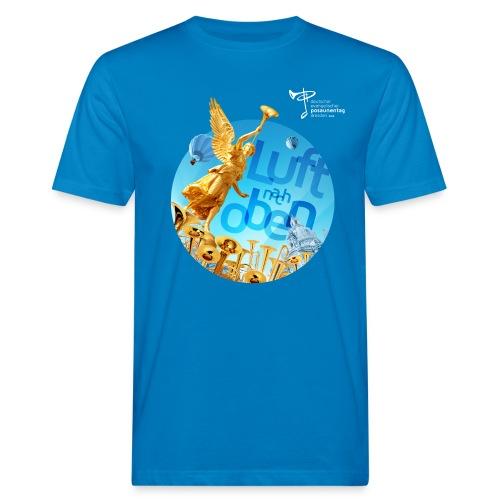 Bio T-Shirt, eigener Text auf dem Rücken - Männer Bio-T-Shirt