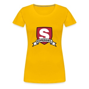 Supergeiler Held  - Frauen Premium T-Shirt