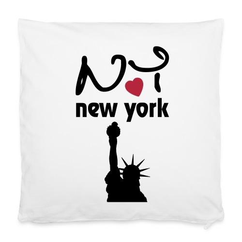 """NY - Pillowcase 16"""" x 16"""" (40 x 40 cm)"""