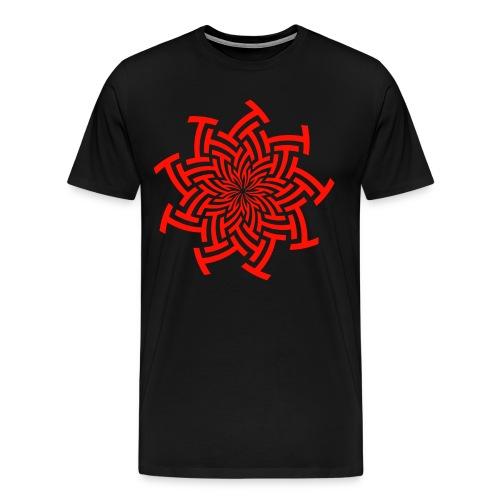 Red Eye Mandala - Men's Premium T-Shirt