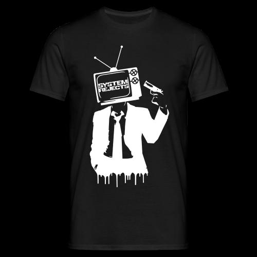Men's Reject Television T-Shirt - Men's T-Shirt