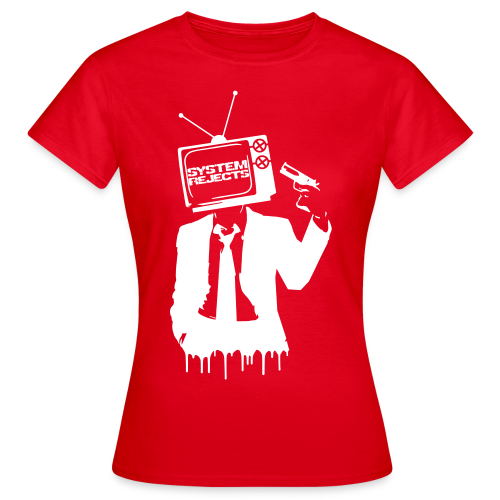 Women's Reject Television T-Shirt - Women's T-Shirt
