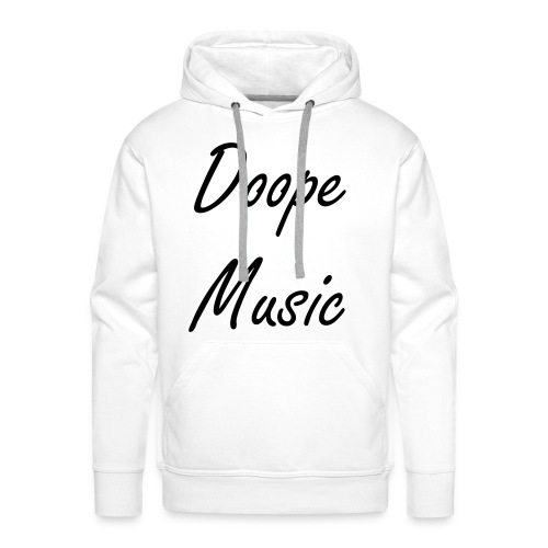 A very nice Hoodie. With a cool Text! - Men's Premium Hoodie