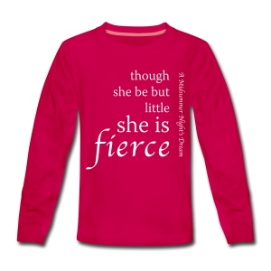 Fierce Teenage Premium Long Sleeve T-Shirt - Teenagers' Premium Longsleeve Shirt