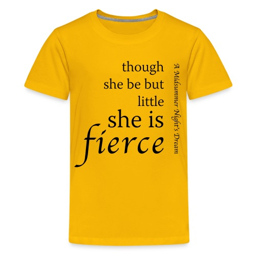 Fierce Teenage Premium T-Shirt - Teenage Premium T-Shirt
