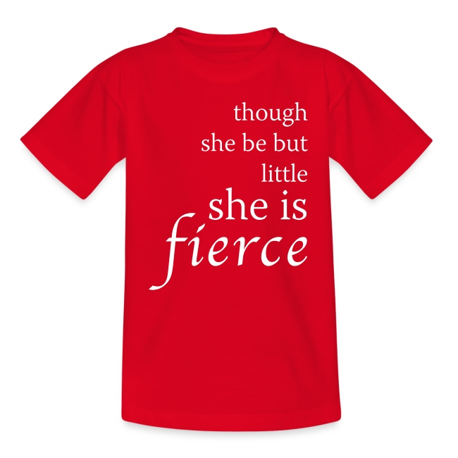 """Fierce"" Kids' T-Shirt"