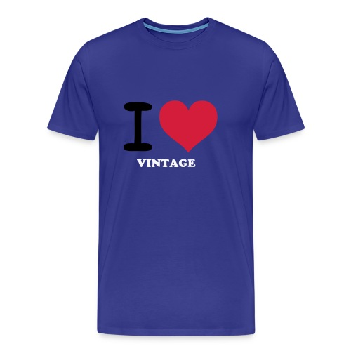 I Love Vintage - Men's Premium T-Shirt
