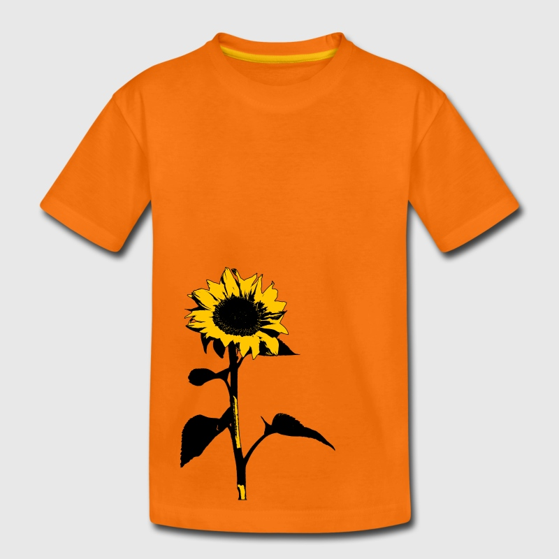 Sonnenblume T-Shirts - Teenager Premium T-Shirt