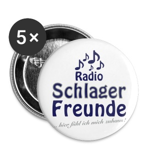 RSF Fanartikel - Buttons groß 56 mm