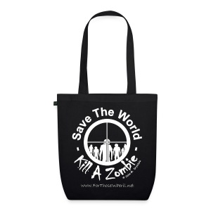 Tote Bag - Save The World Kill A Zombie - EarthPositive Tote Bag