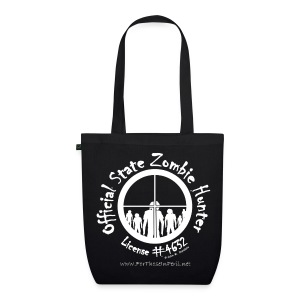 Tote Bag - Official State Zombie Hunter - EarthPositive Tote Bag