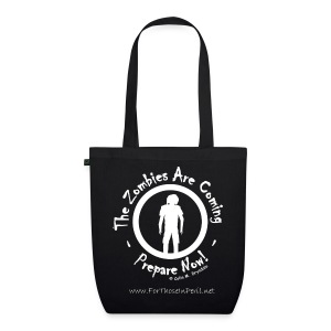 Tote Bag - Zombie Are Coming - EarthPositive Tote Bag