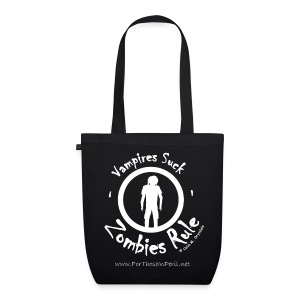 Tote Bag - Zombies Rule - EarthPositive Tote Bag