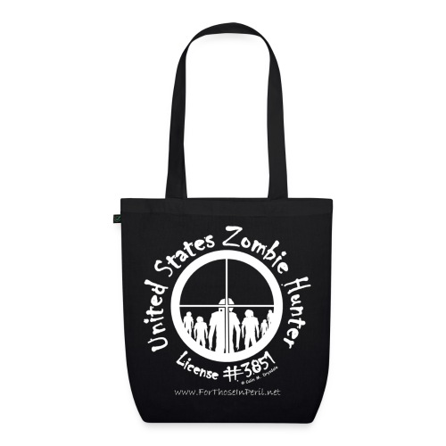 Tote Bag - United States Zombie Hunter - EarthPositive Tote Bag