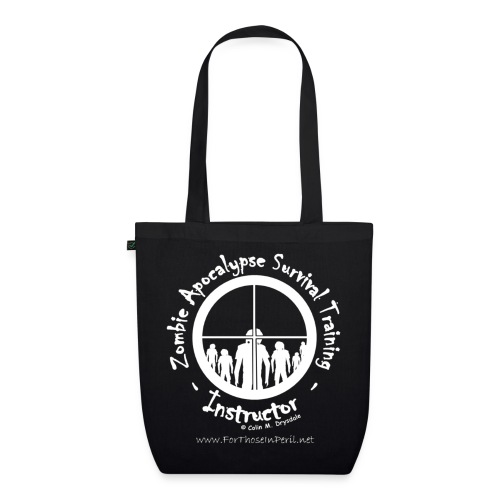 Tote Bag - Zombie Apocalypse Surviavl Training - EarthPositive Tote Bag