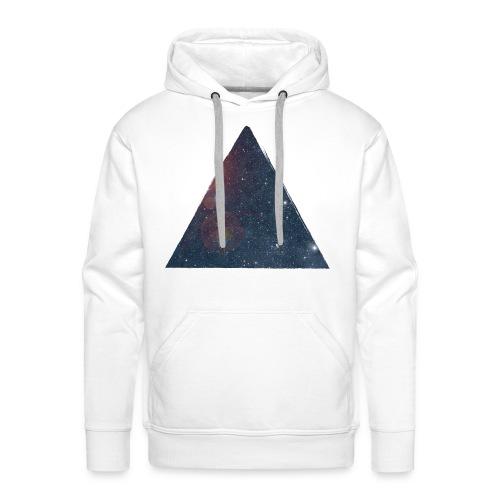 Pyramid Galaxy  - Sweat-shirt à capuche Premium pour hommes
