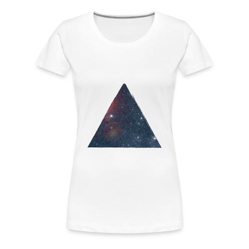 Pyramid Galaxy  - T-shirt Premium Femme
