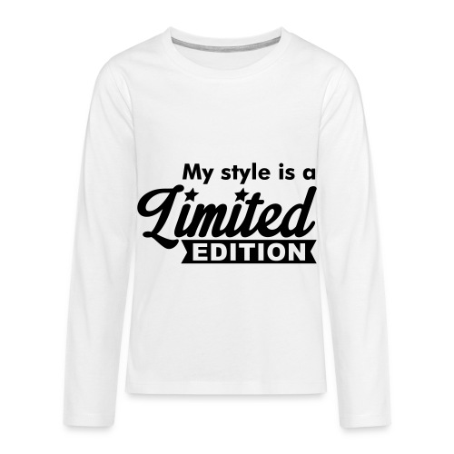 Limited Edition style  - T-shirt manches longues Premium Ado