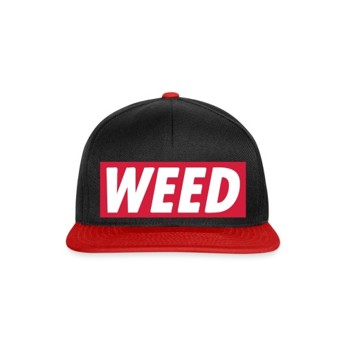 Weed Snapback - Casquette snapback