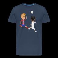 T-Shirts ~ Men's Premium T-Shirt ~ Men T-shirt Goal of a champion 2014