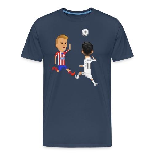 Men T-shirt Goal of a champion 2014 - Men's Premium T-Shirt