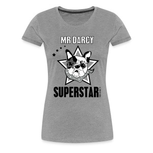 Mr Darcy SUPERSTAR  Damen Premium  - Frauen Premium T-Shirt