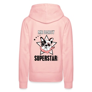 Mr Darcy SUPERSTAR  Damen Sweater - Frauen Premium Hoodie