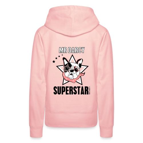 Mr Darcy SUPERSTAR  Damen Sweater - Frauen Premium Hoodie