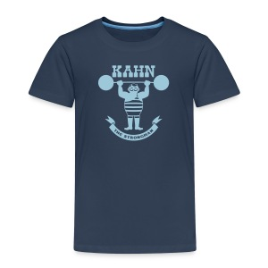 Kahn the Strongman - Kids' Premium T-Shirt