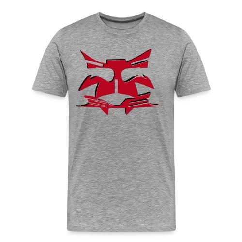 Prime red face - Männer Premium T-Shirt