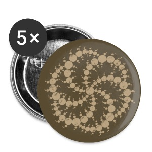 crop circle - Buttons klein 25 mm