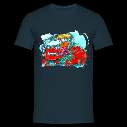 Erdbeeren - Männer T-Shirt