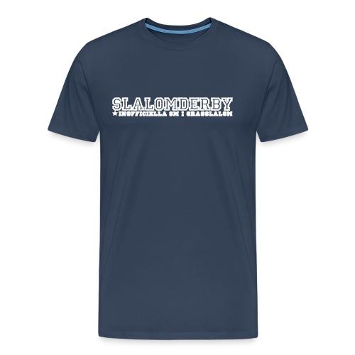 T-shirt - Slalomderby SM i grässlalom - Premium-T-shirt herr