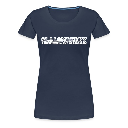T-shirt - Slalomderby SM i grässlalom (dam) - Premium-T-shirt dam