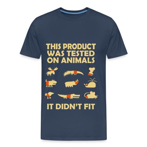 Animal T-shirt Test - Men's Premium T-Shirt